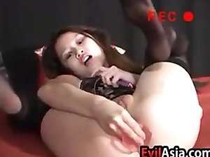 Fun Asian Pussy Playing